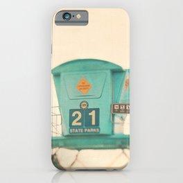 Lifeguard Tower Photo. No. 21 iPhone Case