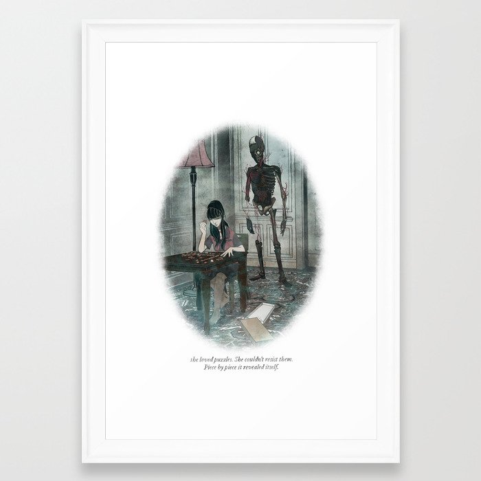 Behind You 37 Framed Art Print by briancoldrick | Society6