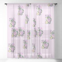 Paradise Sheer Curtain