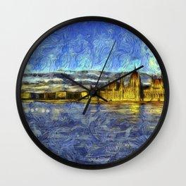 Budapest Vincent Van Gogh Wall Clock