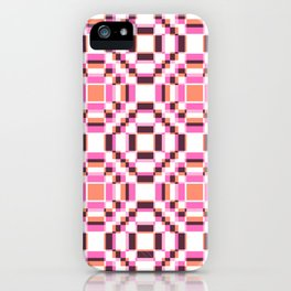 Girlpower Retro Love Sileni iPhone Case
