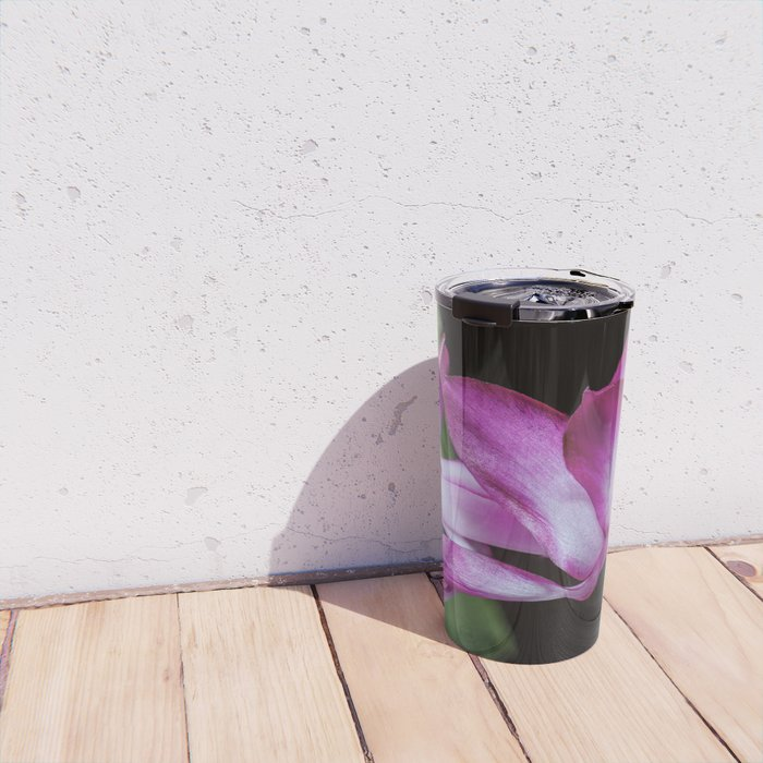 Christmas Cactus flower Travel Mug