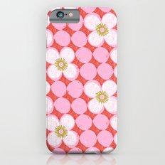 dotty flowers iPhone 6s Slim Case