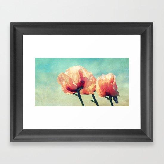 verán Framed Art Print