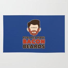 Bacon Beard (men's version) Rug