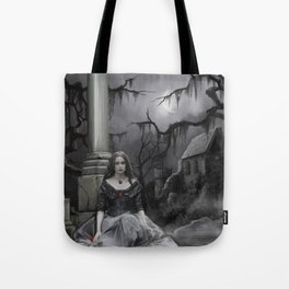 The Darkness Awaits Tote Bag