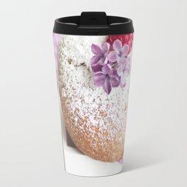 Pink pastel colored muffin stilllfeben Travel Mug