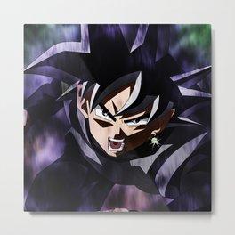Goku evil Metal Print