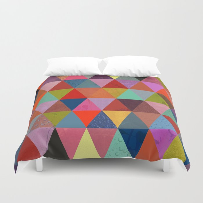 Abstract #287 Duvet Cover