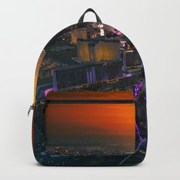 Sunset in Vegas Backpack