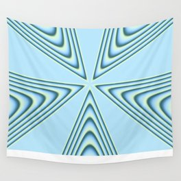 Linear Waves in MWY 01 Wall Tapestry
