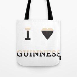 I heart Guinness Tote Bag