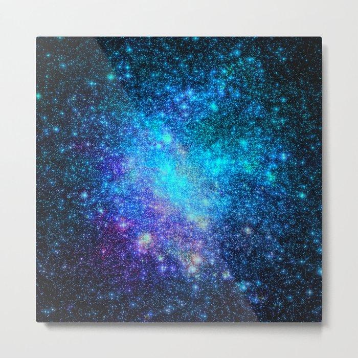 Magical Nebula Universe Metal Print