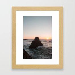 Bird Rock Framed Art Print