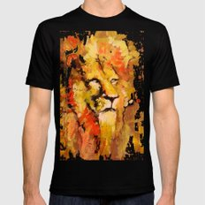 Lion Mens Fitted Tee X-LARGE Black