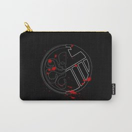 Two Sides of a Coin Carry-All Pouch