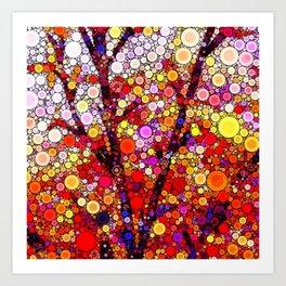Planting Cherry Trees Art Print