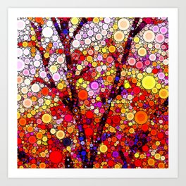 Planting Cherry Trees Art Print