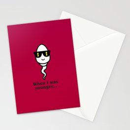 When I was younger Stationery Cards
