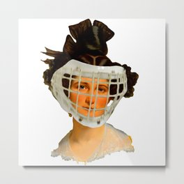 READY FOR THE GAME I Metal Print