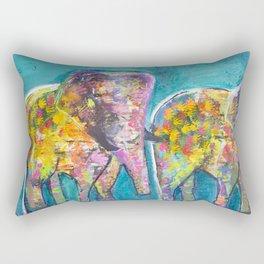 The world is full of elepants Rectangular Pillow