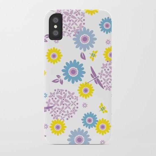 Summer Buzz iPhone Case