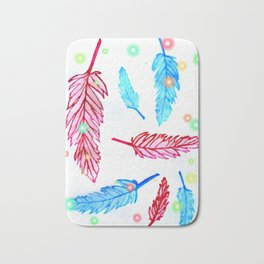 Light as a feather Bath Mat