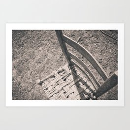 chair. Art Print