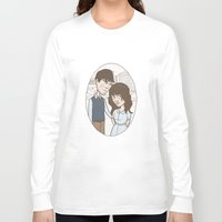 500 days of summer Long Sleeve T-shirts featuring 500 days of summer portrait. by Nic Lawson