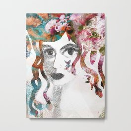 Young Medussa Metal Print