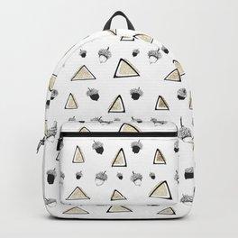hazelnuts & triangles. Backpack