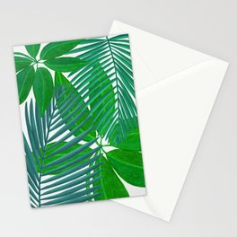 Tropical Green Garden Stationery Cards