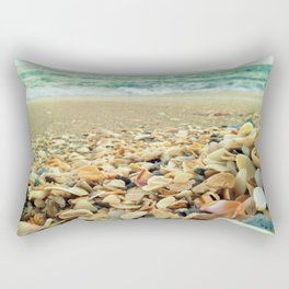 Shore and Shells Rectangular Pillow