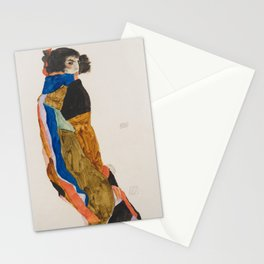 Egon Schiele - Moa (1911) Stationery Cards