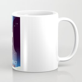 Deep Impact Space Art Coffee Mug