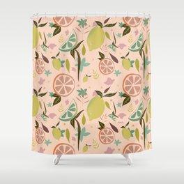 Citrus garden Shower Curtain