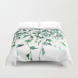 Ivy on the Wall Duvet Cover