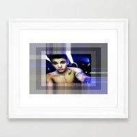 justin timberlake Framed Art Prints featuring justin by Kathead Tarot/David Rivera