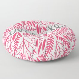 Pardon My French – Pink Floor Pillow