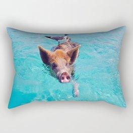 Pig Rectangular Pillow