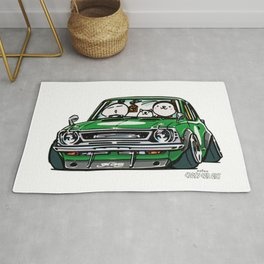 Crazy Car Art 0142 Rug