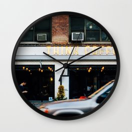 City Coffee Shop Wall Clock