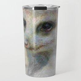 Artistic Animal Meerkat Travel Mug
