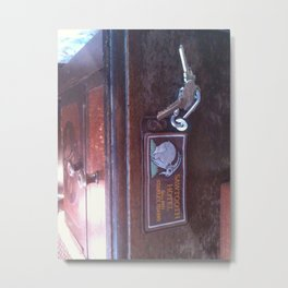 sawtooth hotel Metal Print