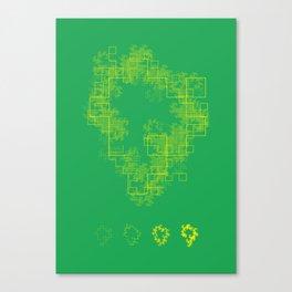Chaos Isla Canvas Print
