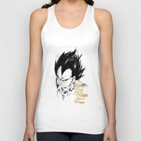 dragonball z Tank Tops featuring Dragonball Z - Pride by Straife01