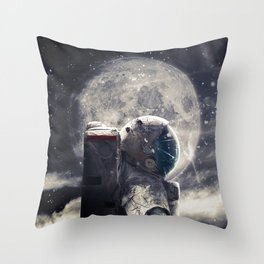 Accompanied Throw Pillow
