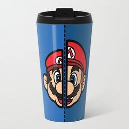 Old & New Mario Travel Mug
