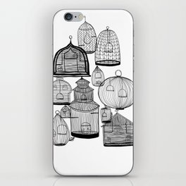 Cages Open Cages Closed iPhone Skin