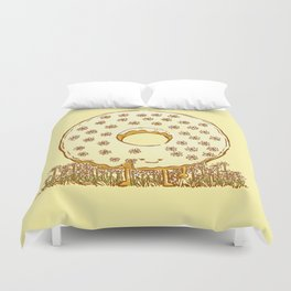 In Bloom Donut Duvet Cover